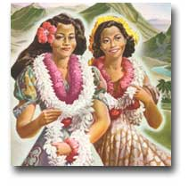 The tradition of Hawaiian leis is very old